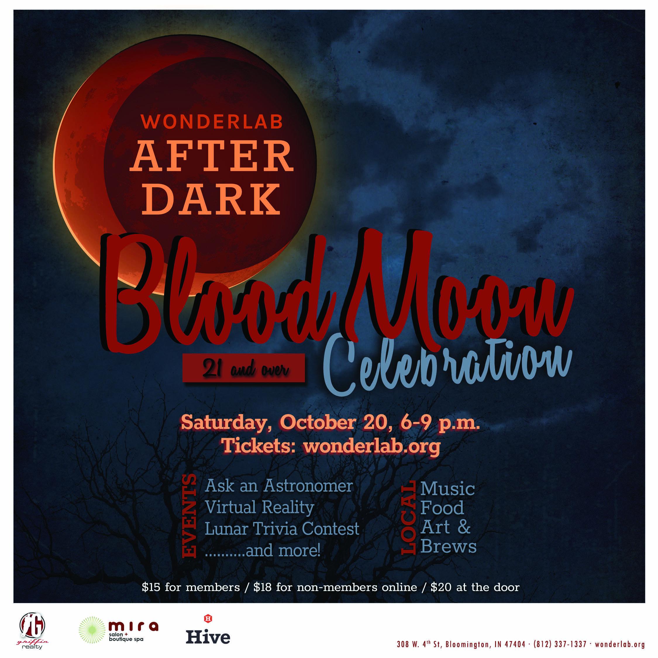 Wonderlab After Dark Blood Moon Celebration Wonderlab Museum Of